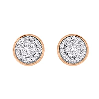 6d9f57acf KATARINA Diamond Stud Earrings in Gold or Silver (3/8 cttw, G-H, I2-I3)