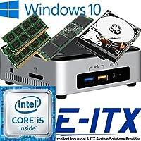 Intel NUC6I5SYH 6th Gen Skylake Core i5 System, 32GB DDR4 Memory, 960GB M.2 SSD , 1TB SATA HDD, WiFi, Bluetooth, Window 10 Pro Installed & Configured by E-ITX