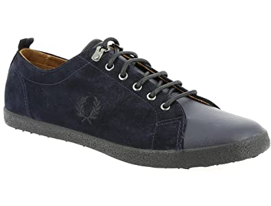 Fred Perry Kingston Tumbled Leather Navy