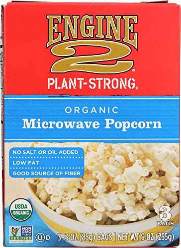 Engine 2, Organic Microwave Popcorn, 3 Ounce, 3 Count