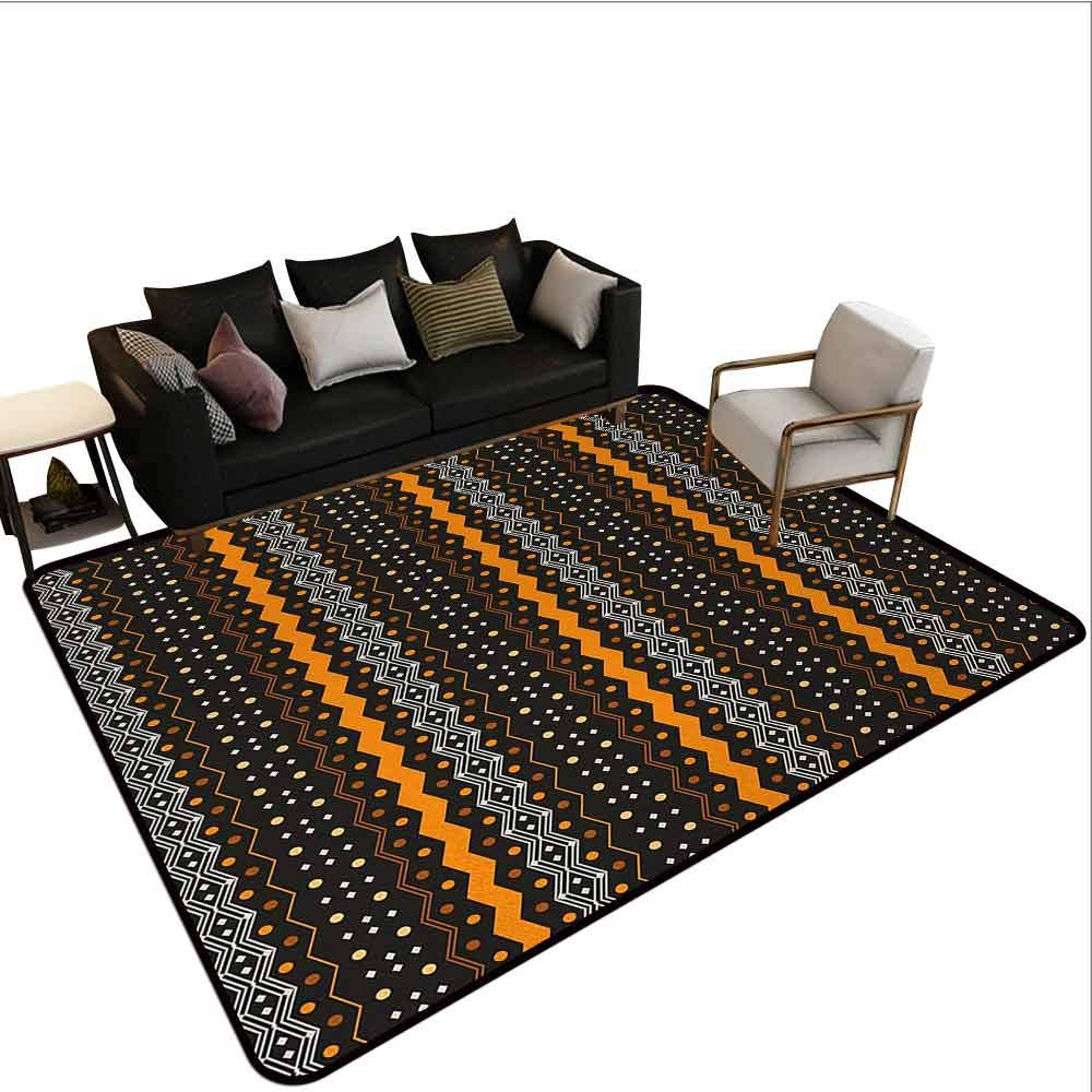 Amazon.com: AlEASYHOME Rug Pads, Aztec Pattern Tribal Folk ...
