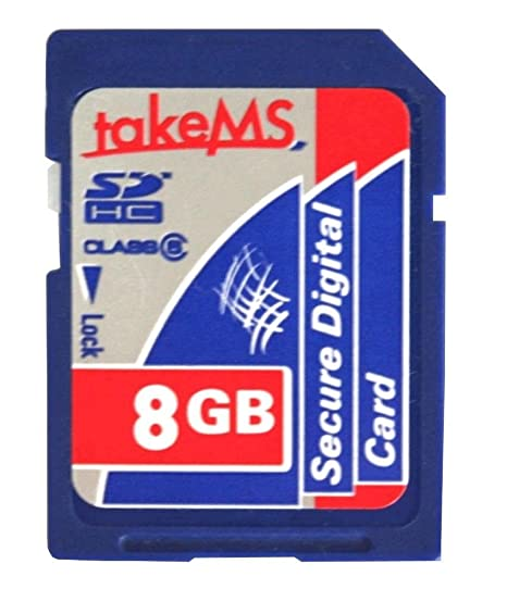 TakeMS - Tarjeta de Memoria Secure Digital (SD) SDHC 8 GB ...