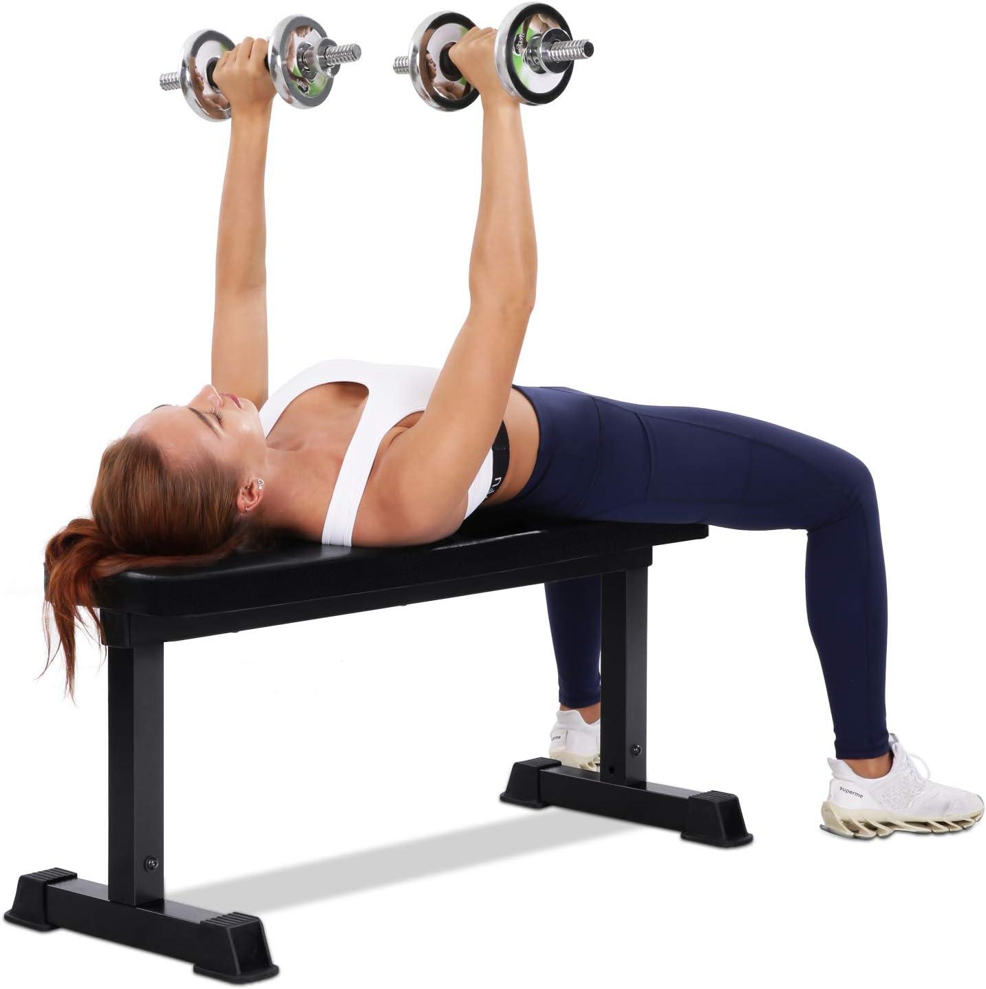 MaxKare Flat Weight Bench
