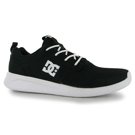 43b4034f DC Shoes Midway Zapatillas Deportivas para Hombre Negro/Blanco ...