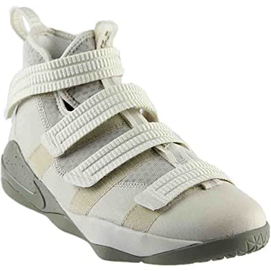 87087015aac96 Nike Lebron Soldier XI (GS) Girls Fashion-Sneakers 918369-099 4Y - Light