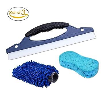 rgtopone/Squeeze para limpiaparabrisas de coche de limpieza Lavado manopla de microfibra Esponja//