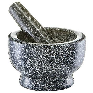 Mörser Und Stößel zeller 24501 mörser und stößel set granit anthrazit ca 13 x 13 x