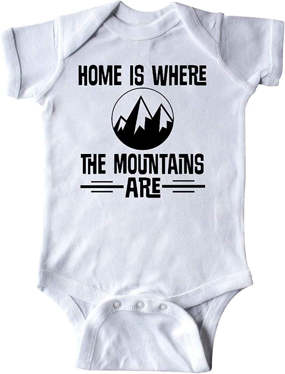 inktastic Home is Where The Mountains are Infant Creeper