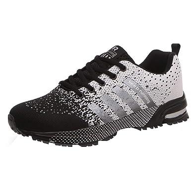 Women Men Casual Sport Running Shoes Air Cushion Sole Breathable