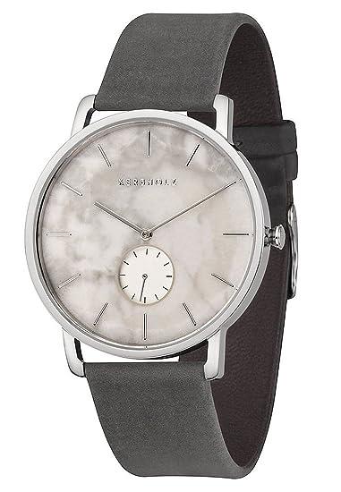 Kerbholz Reloj Analogico para Hombre de Cuarzo con Correa en Cuero 4.25124E+12: Amazon.es: Relojes