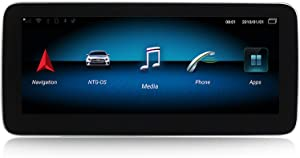 WHL.HH Android Car Stereo Radio GPS Navigation 10.25 Inch Touch Screen Multimedia Player for Mercedes Benz B-Class W246 2011-2018,N600,NTG4.0