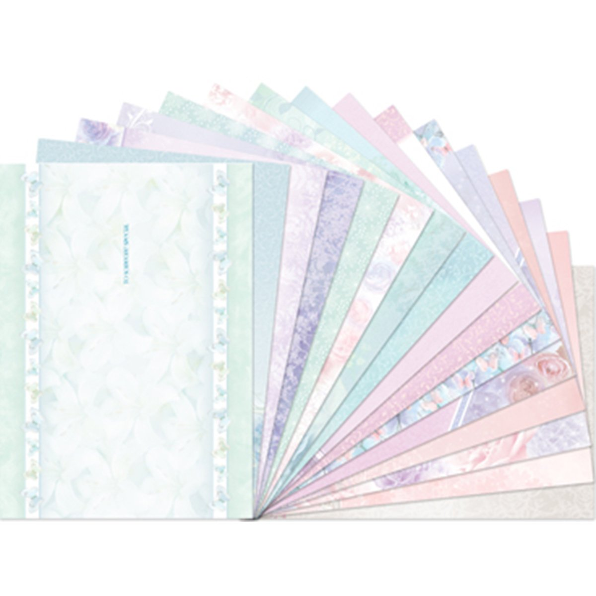 Hunkydory Floral Shimmer Luxury Inserts for Cards Hunkydory Crafts
