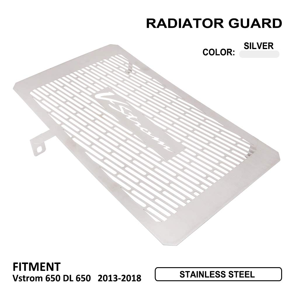 per Suzuki Vstrom 650 DL 650 2013 AnXin 2018 Copertura Protettiva per griglia radiatore