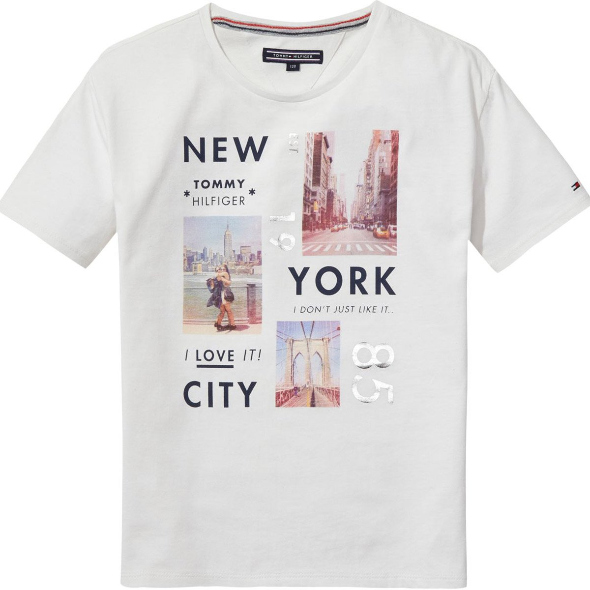 Tommy Hilfiger Fille t Shirts Manches Courtes 80: Amazon