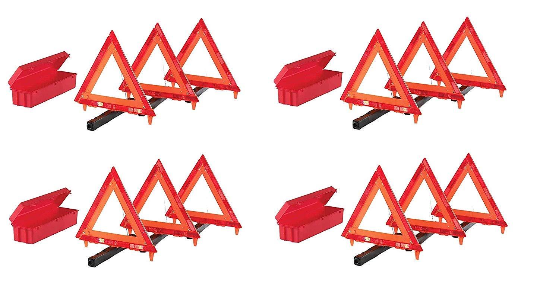 Cortina 95-03-009 3 Piece Triangle Warning Kit (Pack of 4)