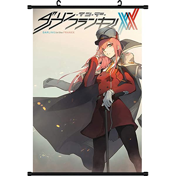 """darling in the franxx Anime Print Wall Poster Scroll Home Decor 12/""""X18/"""""""