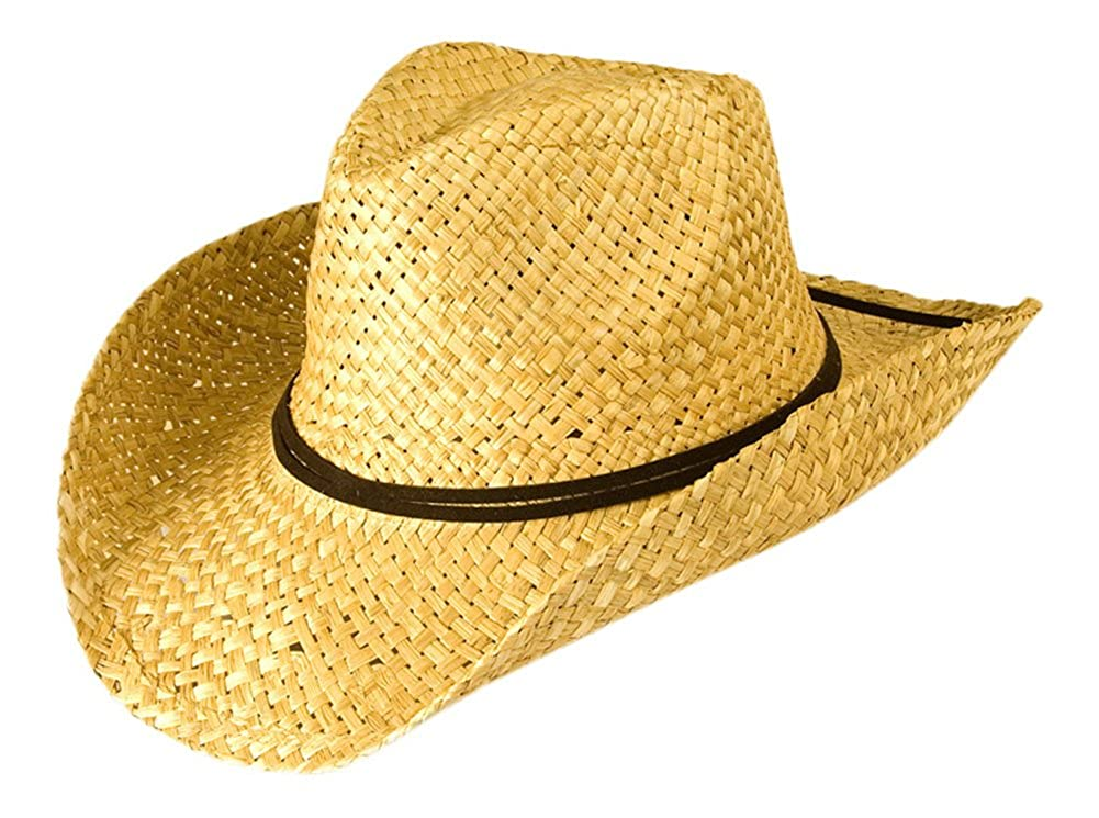 Gamble & Gunn Natural Straw Cowboy Hat
