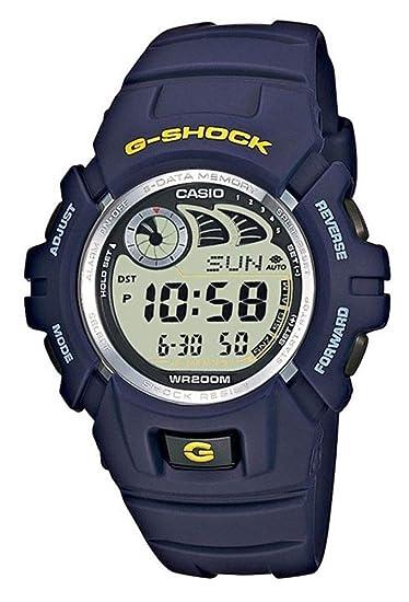 cfca228319dd Casio Reloj Digital para Hombre de Cuarzo con Correa en Plástico G-2900F-2VER   Casio  Amazon.es  Relojes