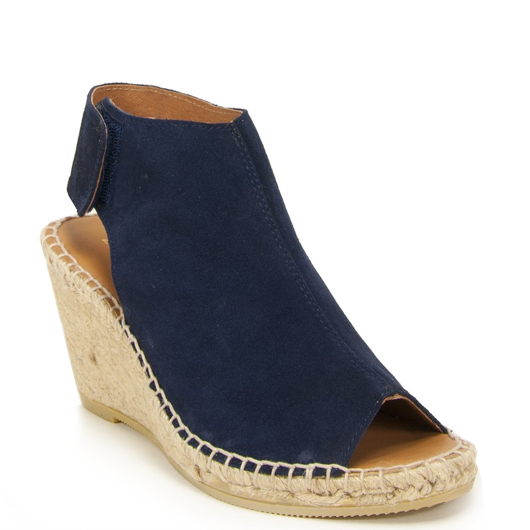 275 Central Quai - Wedge Espadrille B01DOOOSSI 35 M|Navy