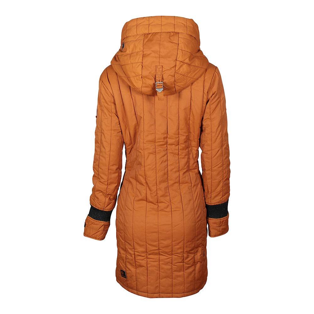 khujo Damen Winter Mantel Jerry Prime 2 Pumkin (orange)