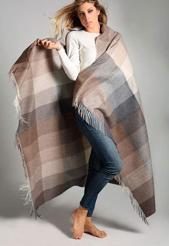 Alpaca FS Neutral Multi-Color Patchwork is More Save money specialty shop Dur Throw Afghan