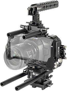 Amazon Com Stratus Complete Cage For The Blackmagic Pocket Cinema Camera 6k 4k Camera Photo