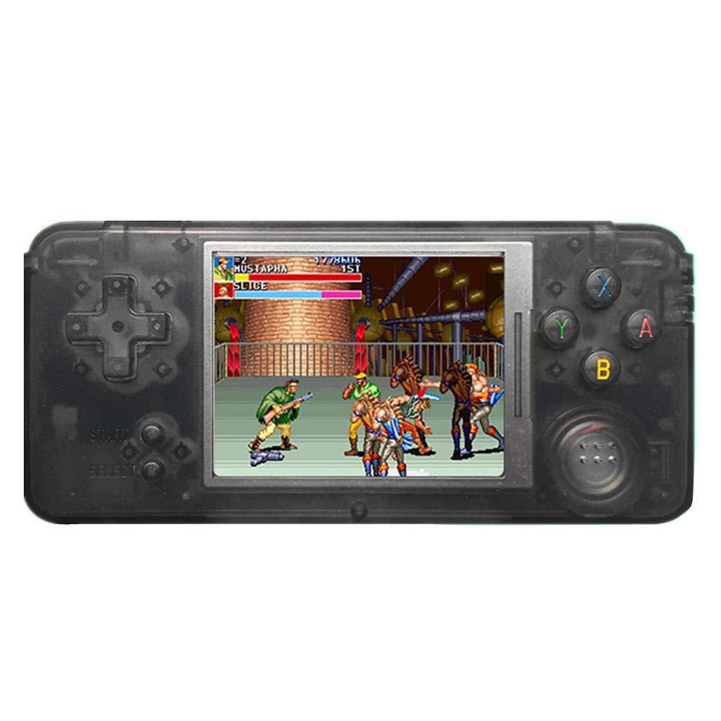 Jamicy Handheld Spielkonsole, Retro Spielkonsole 16 GB 3000 Klassiker, Tragbare Videospielkonsole, Geburtstags Kinder