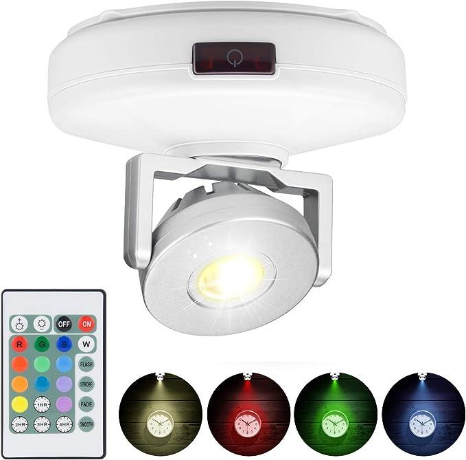 LUXSWAY Wireless LED Spotlight - Best Spotlight Lighting