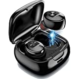 Mini Bluetooth Earbud,IULONEE Wireless Sport Earphone Portable Earpiece Small Invisible Headphone IPX5 Waterproof HiFi…