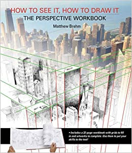 Image result for How to See it, How to Draw it: The Perspective Workbook: Unique Exercises with More Than 100 Vanishing Points to Figure Out