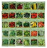 Set of 30 Pack Variety Deluxe Vegetable Seeds! 30...