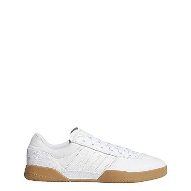 new product 8fe69 b77b5 adidas City Cup, Chaussures de Skateboard garçon, Blanc FtwblaGum4 000, 36