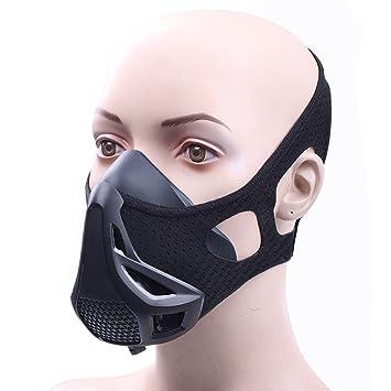 Gimnasio Entrenamiento Deportivo máscara 4 levelair regulador de flujo de alta altitud elevación ejercicio máscara de