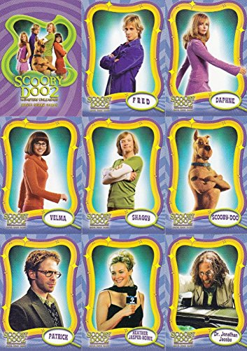 SCOOBY-DOO MOVIE 2 MONSTERS UNLEASHED 2004 INKWORKS COMPLETE BASE CARD SET OF 72 (Scooby Doo 2 Monsters Unleashed Monsters Cards)