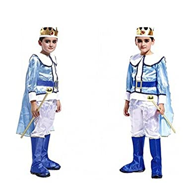 Fandecie Cute Little King Prince Halloween Costumes Kid Child Clothes Boys Outfit Large  sc 1 st  Amazon.com & Amazon.com: Fandecie Cute Little King Prince Halloween Costumes Kid ...