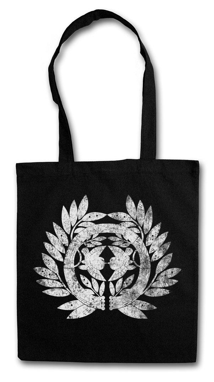 Urban Backwoods Date Clan Mon Hipster Bag Jap/ón Shogun Samurai Ninja Flag