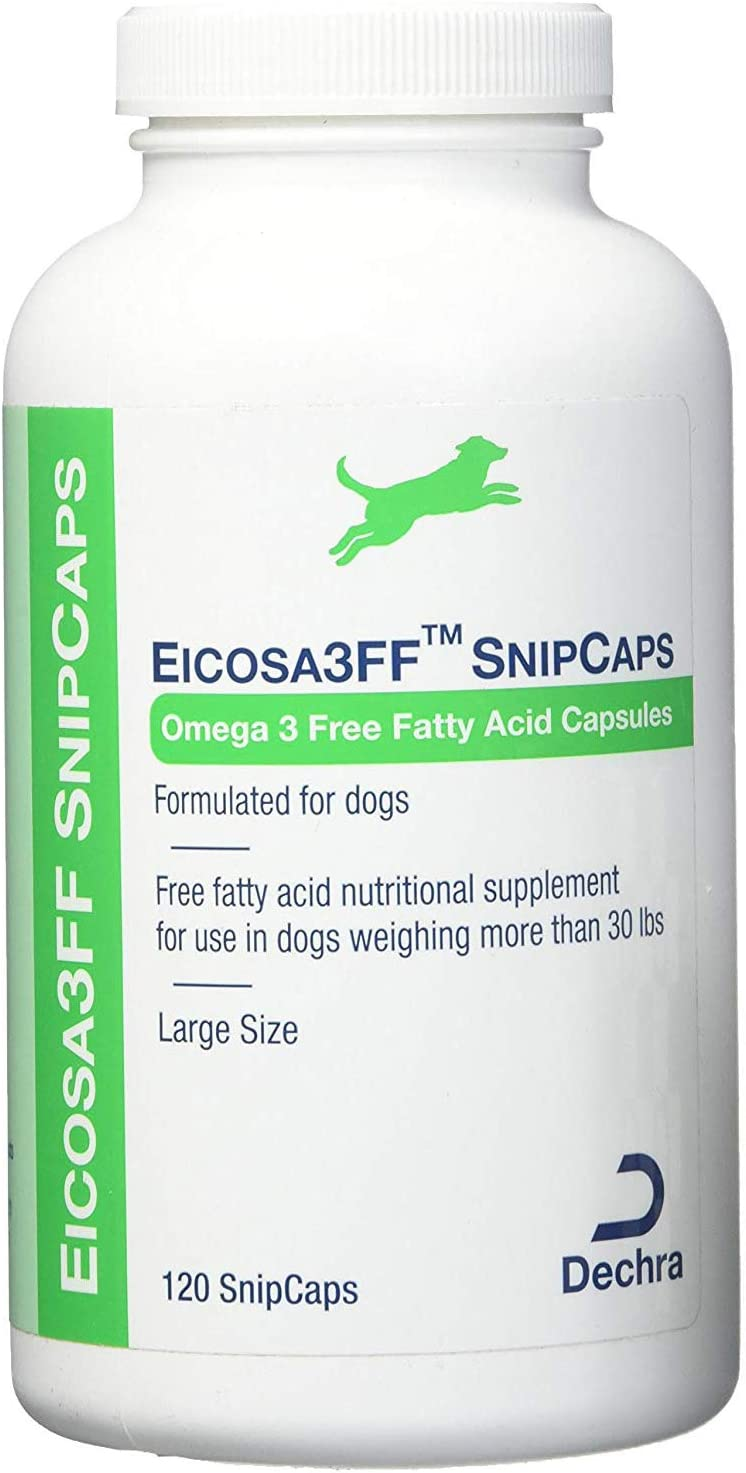 Dechra Eicosa3FF SnipCaps (Large), for Dogs Over 30lbs