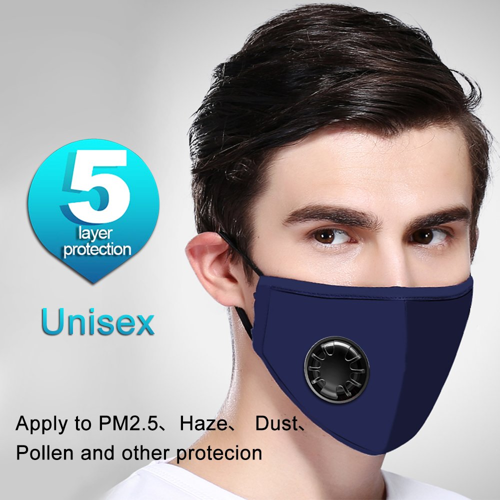 masque anti pollution pm