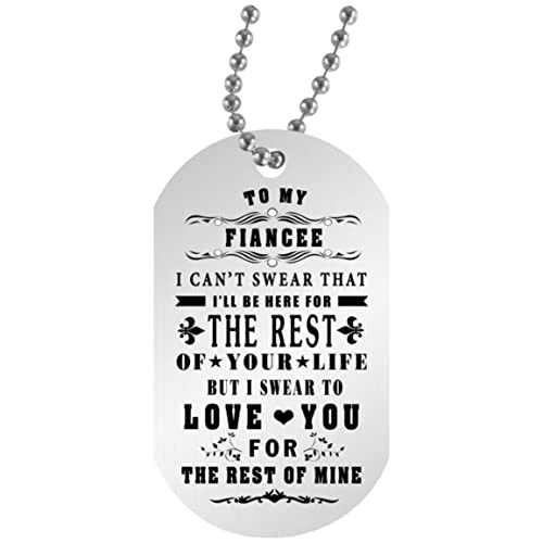 Amazon EConvenience Store To My Fiancee Pendant Necklace With Chain