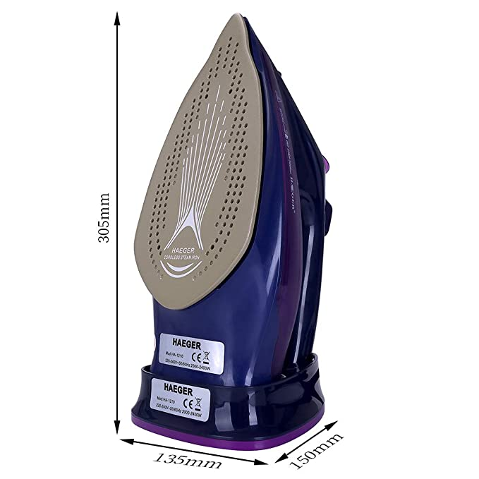 Amazon.com: YJQWDDD 2400W Plancha de vapor 5 Velocidades ...