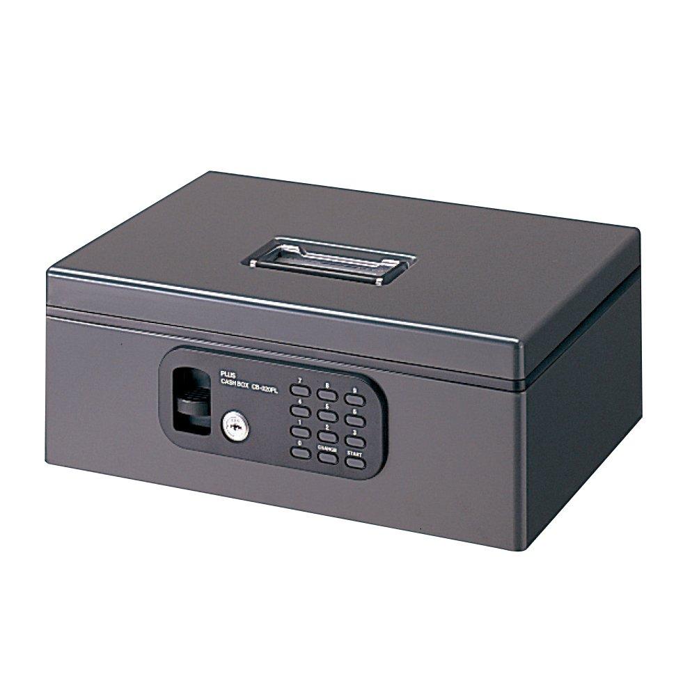 プラス 金庫 手提金庫 電子ロック A4 FL型 Mサイズ ダークグレー 12-836 B0026MSOK8 M(A4)|ダークグレー ダークグレー M(A4)