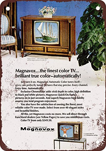 Buy vintage magnavox colour tv