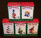 Mickey & Co. Merry Miniatures Mickey Express Set of (5) 1998 Hallmark