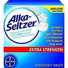 Alka-Seltzer-Extra Strength Tablets, Extra-Strength Antacid & Pain Relief, Original (24 Tablets)