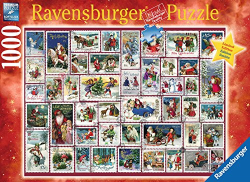 Christmas Wishes Limited Edition Ravensburger 1000 Piece Xmas Jigsaw Puzzle by Artist Barbara Behr