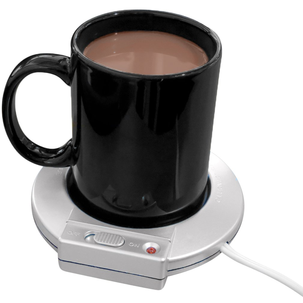 Evelots Electric Mug Warmer Heater, Keep Beverages Warm at Home & Office, Set/2