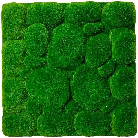 Wankd – Alfombra de césped Artificial Verde para jardín de casa, Suelo DIY, decoración de Boda, Hierba 30 x 30 cm, Verde Oscuro, 30 * 30cm: Amazon.es: Hogar