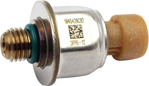 Fuel Injection Pressure Sensor Fits for Ford Powerstroke 6.0 2004-2007 Replace 1845428C91//4C3Z-9F383-AB ICP Sensor
