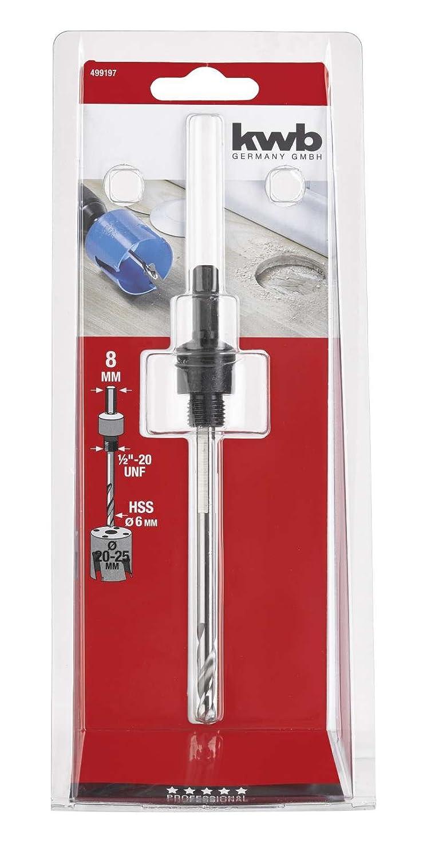 KWB 49499197 Husillo He x agonal diametro20-25 mm Herramientas eléctricas y de mano