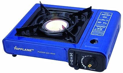 Dule Topflame papel butano Camping Gas portátil estufa y el calentador